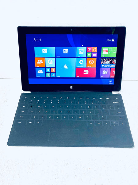 "Microsoft Surface RT 10.6"" 1516 1.30GHz 2GB 32GB Tablet with Keyboard Grade B"