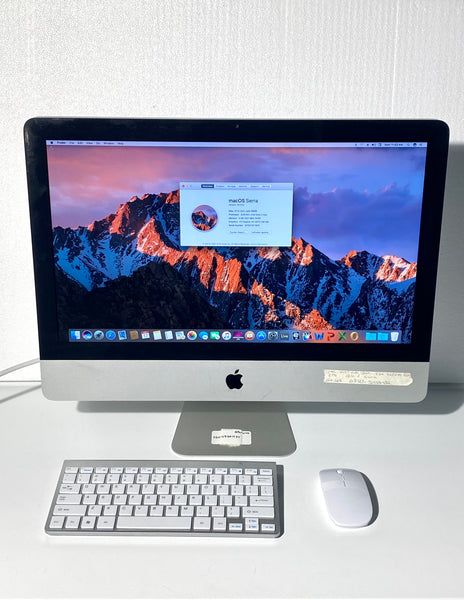 AApple iMac 21.5in. Late 2009 MB952LL/A 4GB 1TB Core 2 Duo 3.06GHz with Wireless Keyboard and Mouse