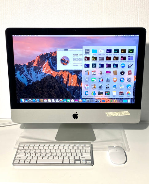 AApple iMac 21.5in. Late 2013 ME087LL/A 16GB 1.12TB Fusion Drive Core i7 3.1GHz with Wireless Keyboard and Mouse