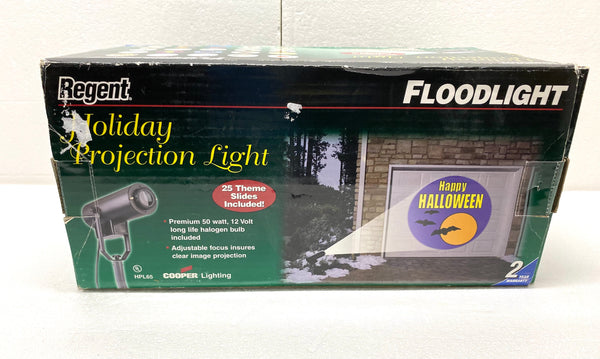 Regent Holiday Projection Light - Floodlight, Black - All Year Round!