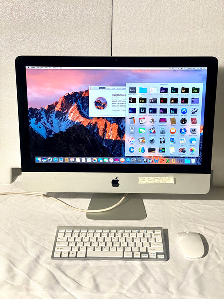 AApple iMac 21.5in. Late 2011 A1311 3.1GHz 4GB, 320GB i3 with Wireless Keyboard and Mouse