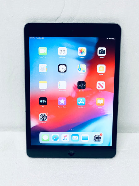 "Apple iPad Mini 2nd Generation ME276LL/A 16GB Wi-Fi 7.9"", Space Gray Grade A"