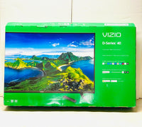 "New Other VIZIO 40"" Class FHD LED Smart TV D-Series D40f-G9, Black"