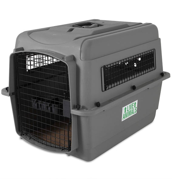 new Other Petmate Sky Kennel for Pets from 25 to 30-Pound, Light Gray