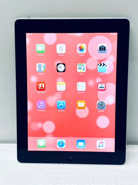 Apple iPad 2nd Generation 16GB MC960LL/A, Black/Silver Grade C