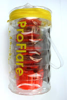 new ProFlare Red LED Lights - 4 Unit Pack with Storage Bag PF04 - R