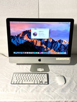 AApple iMac 21.5in. Late 2011 MC978LL/A 4GB 250GB Core i3 3.1GHz with Wireless Keyboard and Mouse