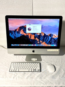 Apple iMac 21.5in. Late 2011 MC978LL/A 4GB 250GB Core i3 3.1GHz with Wireless Keyboard and Mouse