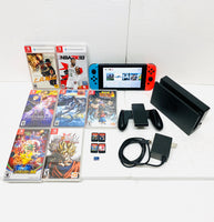Nintendo Switch Combo Dock/Charger, 64GB Micro SD Card and 11 Games