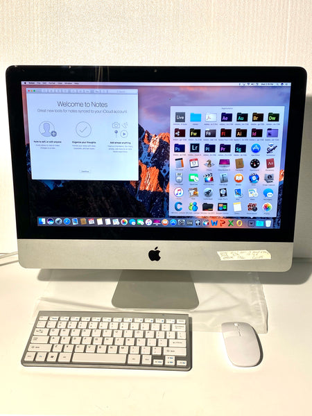 AApple iMac 21.5in. Mid 2011 MC309LL/A 8G 1TB Quad Core i5 2.5GHz with Wireless Keyboard and Mouse
