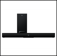 New Other TCL Alto 5+, 2.1 Channel Home Theater Sound Bar with Wireless Subwoofer TS5010, Black