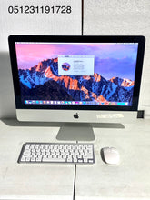 Load image into Gallery viewer, Apple iMac 21.5in. Late 2013 ME086LL/A 8GB 1TB Core i5 2.7GHz with Wireless Keyboard and Mouse