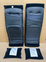 lot of 2 New Other Folding Mats with Pillows, Black