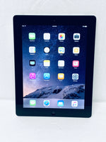 "Apple iPad 4th Generation MD512LL/A 64GB, Wi-Fi 9.7"", Black/Silver Grade A"