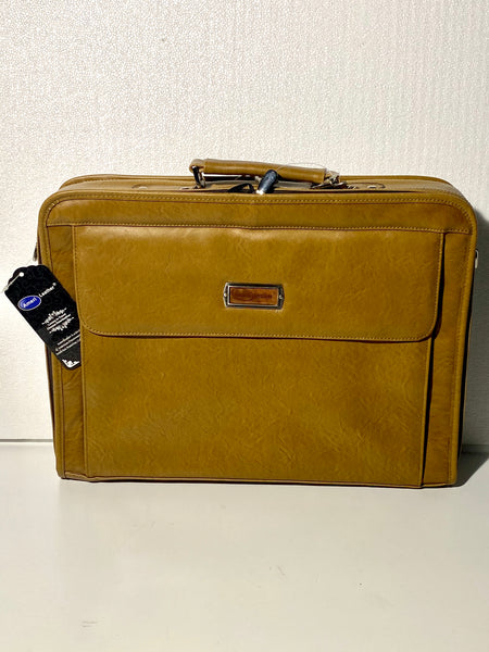 "new Other Amerileather Atlas 16"" x 12"" x 3"" Laptop Briefcase 2560-7, Tan"