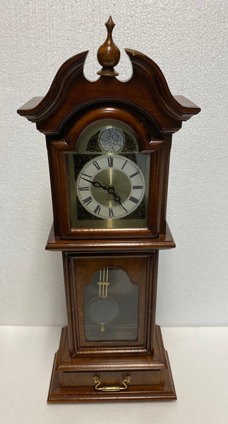 "tempus Fugit  Quartz Table Clock -  Approx. (25"" x 9 1/2 x 5"")"