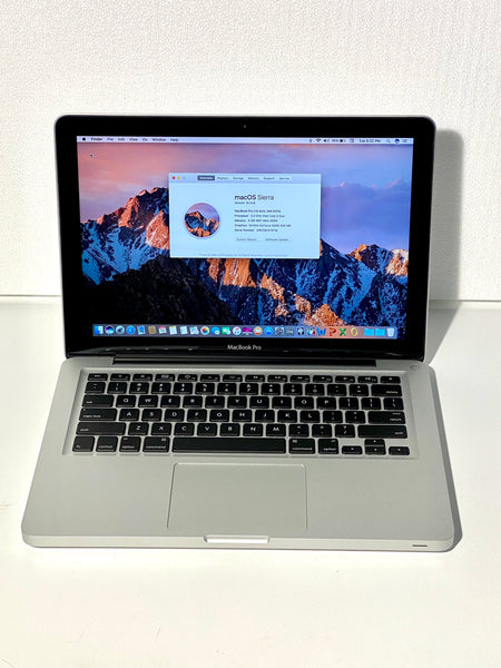 AApple MacBook Pro 13in. Mid 2010 MC374LL/A 4GB 500GB Core 2 Duo 2.4GHz with Charger
