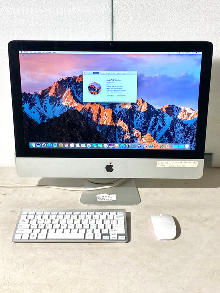 AApple iMac 21.5in. Mid 2010 MC508LL/A 4GB 500GB Core i3 3.06GHz with Wireless Keyboard and Mouse
