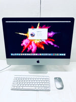 Apple iMac Slim 21.5in. Late 2013 A1418 8GB 256GB SSD Core i5 2.7GHz with Wireless Keyboard and Mouse Grade A