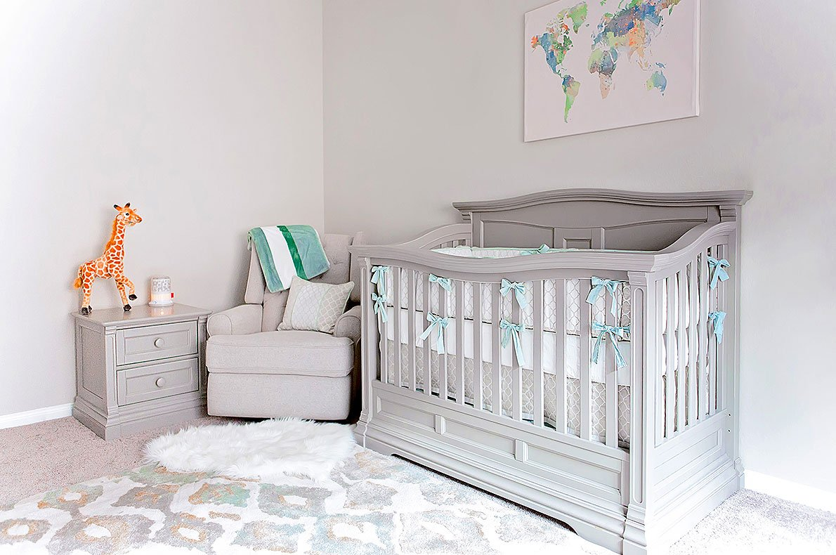 Furniture Collection - Baby Crib and Nightstand