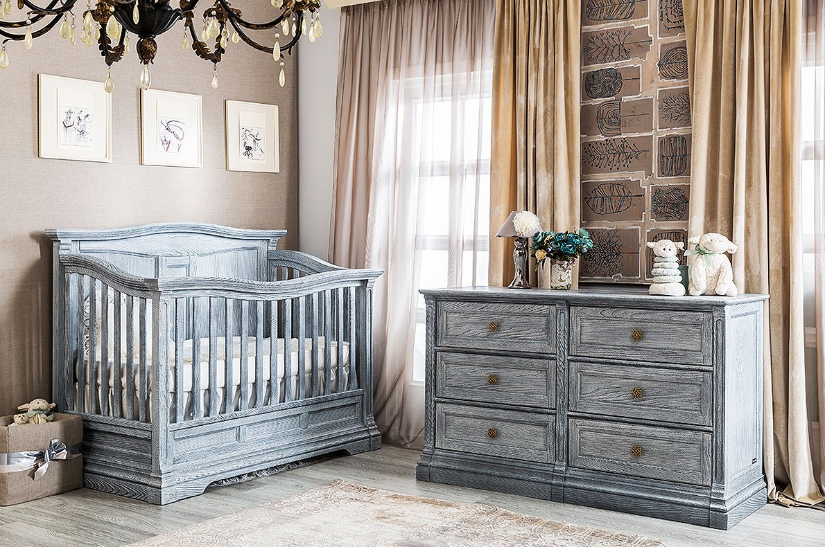 Solid Wood Baby Room Furniture