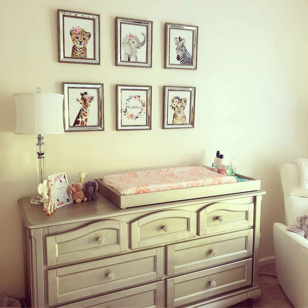 Solid Wood Baby Station