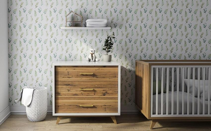 Uptown Baby Crib and Dresser