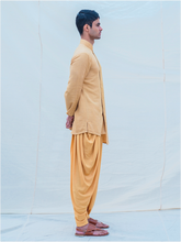 Load image into Gallery viewer, Beige Gold Kurta - Bohame
