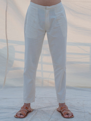 Cotton X Linen Trouser - Bohame