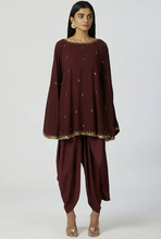 Load image into Gallery viewer, Embellished Kaftan Dhoti Pant Set