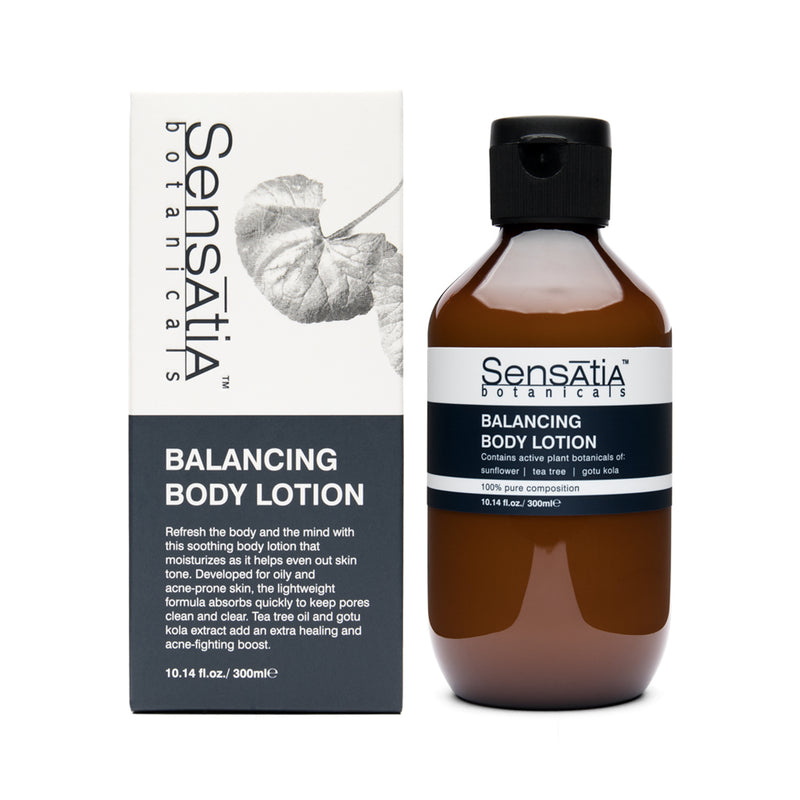Sensatia Botanicals Balancing Body Lotion - The Lemon Tree Apothecary