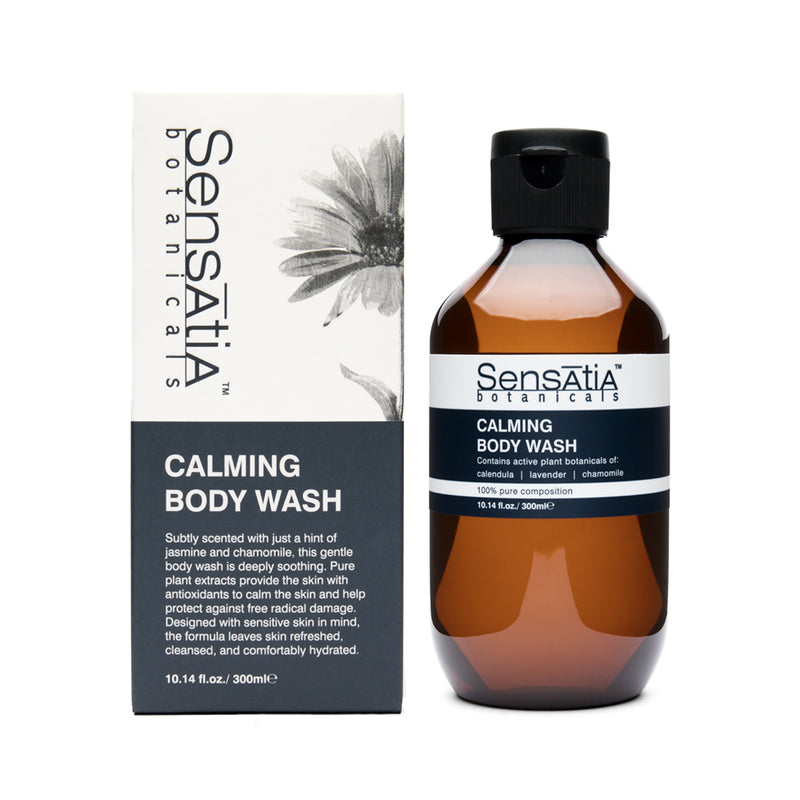 Sensatia Botanicals Calming Body Wash - The Lemon Tree Apothecary