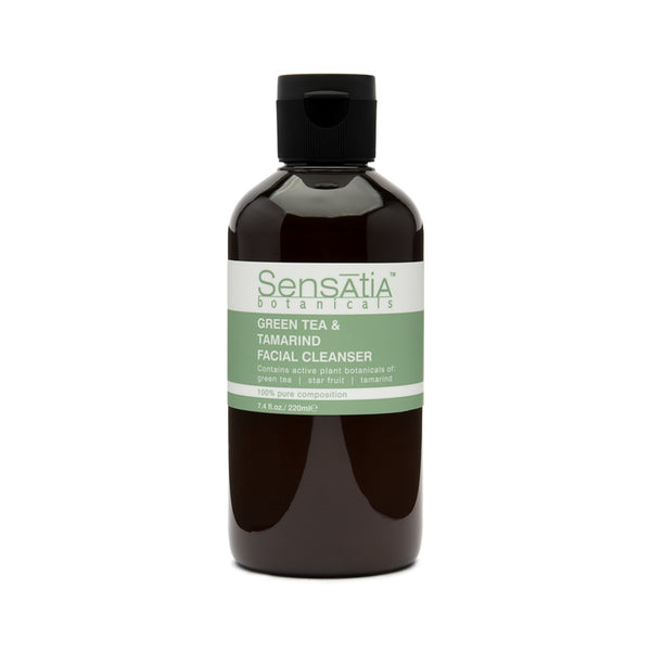Sensatia Botanicals Green Tea & Tamarind Facial Cleanser - The Lemon Tree Apothecary