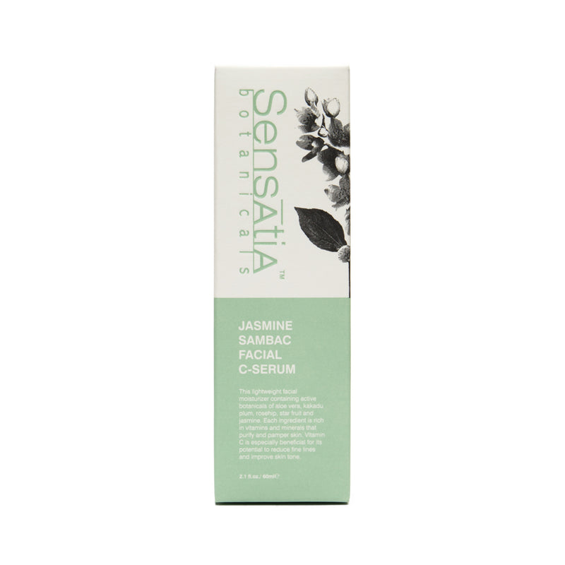 Sensatia Botanicals Jasmine Sambac Facial C Serum - The Lemon Tree Apothecary