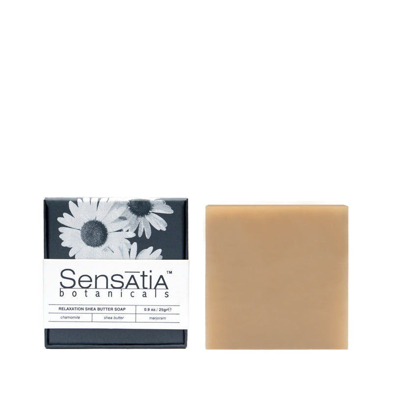 Relaxation Shea Butter Soap - The Lemon Tree Apothecary