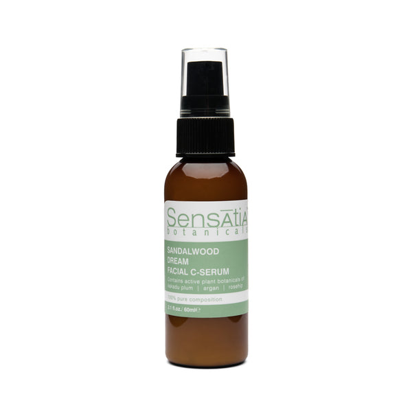 Sensatia Botanicals Sandalwood Dream Facial C - Serum - The Lemon Tree Apothecary