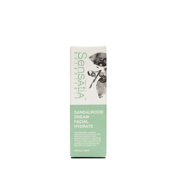 Sensatia Botanicals Sandalwood Dream Facial Hydrate - The Lemon Tree Apothecary