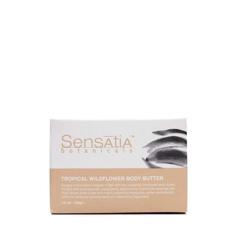 Sensatia Botanicals Tropical Wildflower Body Butter - The Lemon Tree Apothecary