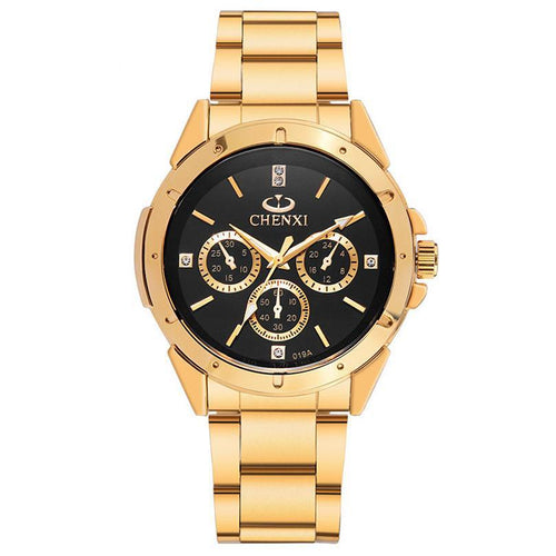 Brand Luxury Gold WristWatch