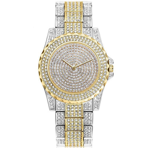 Rhinestone Crystal Wristwatch.