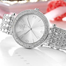 Load image into Gallery viewer, Diamond Design Bracelet Watch