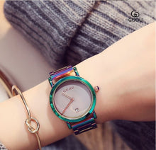 Load image into Gallery viewer, Colorful Ladies Bracelet Watch