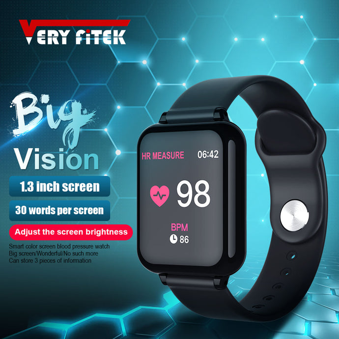 Smart Watch Blood Pressure Oxygen Fitness Bracelet Watch Heart Rate Monitor IP67 Men Women Sport Smartwatch B57