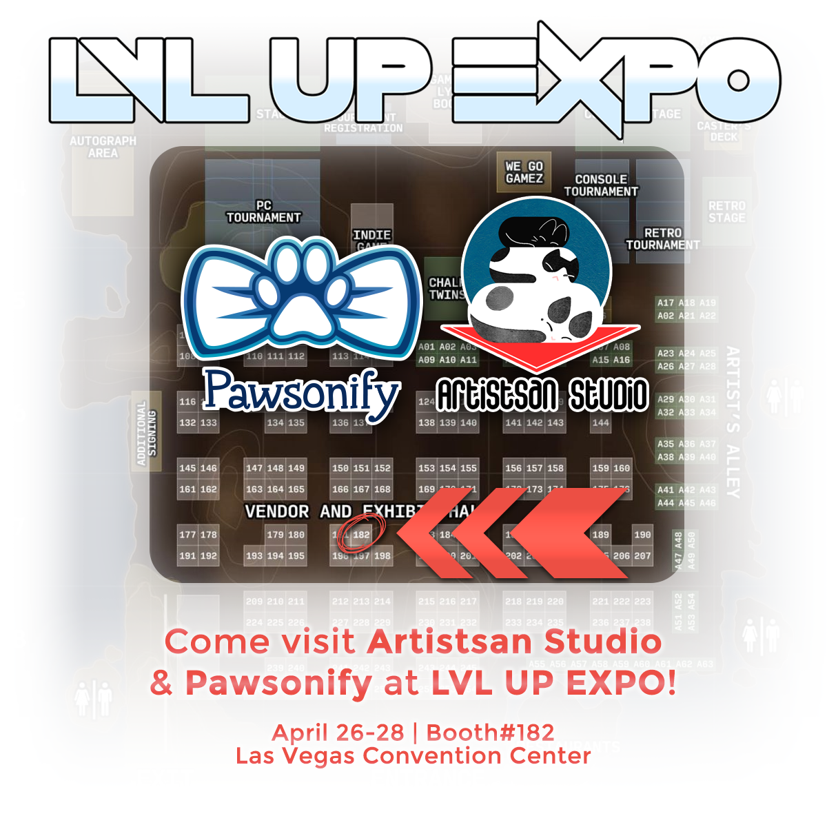 Pawsonify at LVL UP EXPO Las Vegas, NV