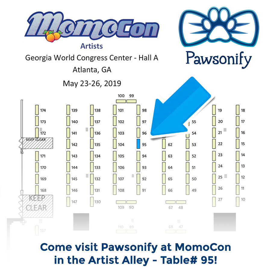 Pawsonify at MomoCon 2019