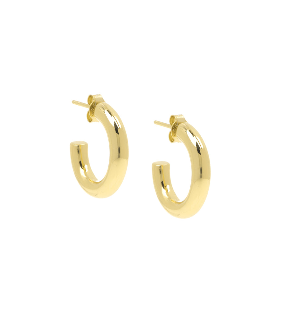 Plain Semi Hoop Earring