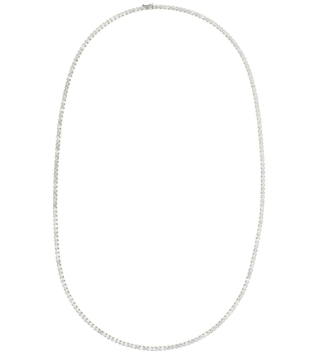 4MM Tennis Long Necklace 65CM