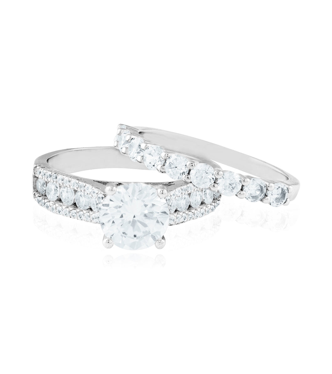 Solitaire Twin Ring