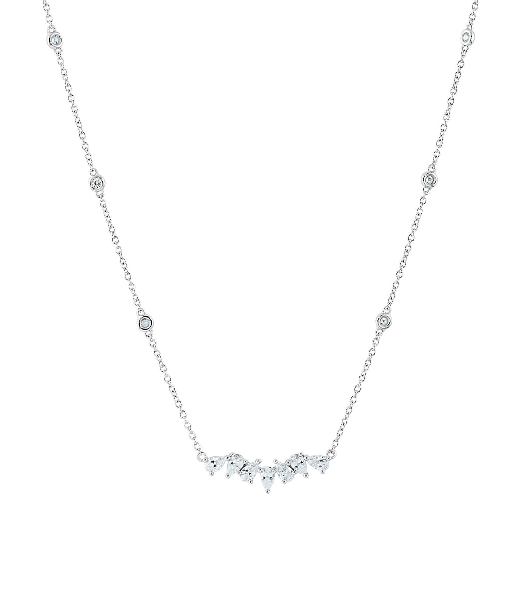 The Marquise Row Necklace