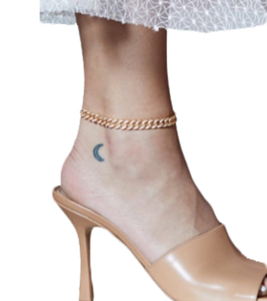 Iced Chain Anklet